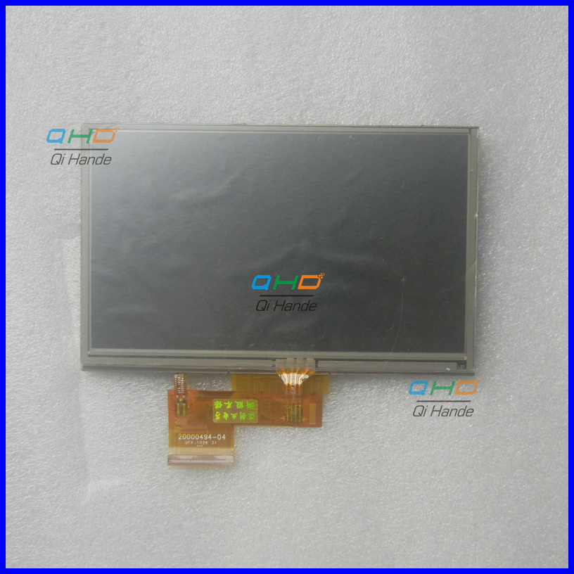 Original et Nouveau 5 pouces 20000494-04 AT050TN34 V.1 LCD Écran Pour Garmin Nuvi 1410 1440 1460 GPS PSP MP5 Écran lcd