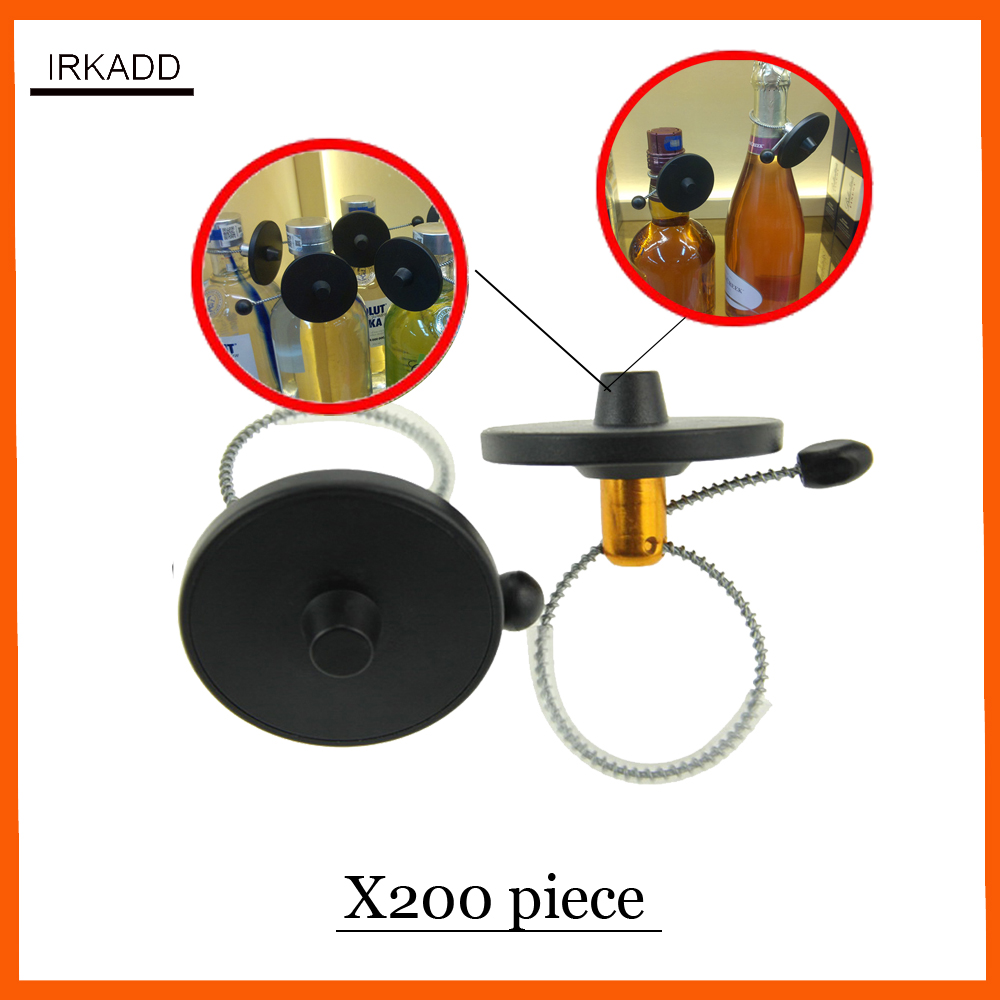 RF 8.2Mhz reusable wine bottle security tag eas sensor tag with lanyard X200 piece ...
