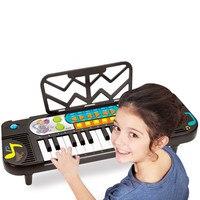 Klawiatura Oświecenia Zabawki dla dzieci Dziecko Wczesnego Uczenia Puzzle Muzyka Fortepianowa Little Boy Toy Piano 3-6 lat