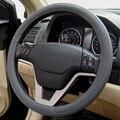 Black Gray Beige Leather Green Rubber Car Steering Wheel Cover For KIA HYUNDAI TOYOTA HONDA RIO LADA Car-styling Accessories