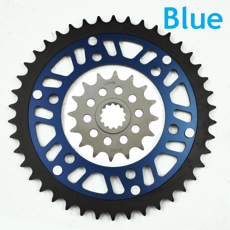 LOPOR Motorcycle 17T Front & 42T Rear Sprocket For Kawasaki ER500 A1,A2,A3,A4,C1,C2,C3,C4 1997-2006,ER-5 Twister(35ps)(50ps)1999