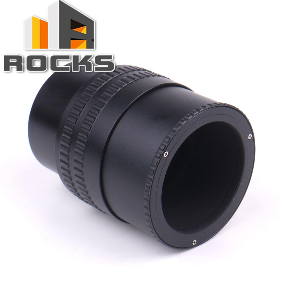 M52 Lens to M42 Camera Adjustable Focusing Helicoid Ring Adapter 36-90mm Macro Extension Tube M52 M42
