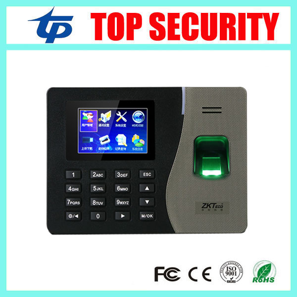ZK K14 TCP/IP biometric fingerprint time attendance linux system network fingerprint time clock optional Bulit-in battery good quality tcp ip linux system biometric fingerprint time attendance time clock employee attending control u100 finger clock