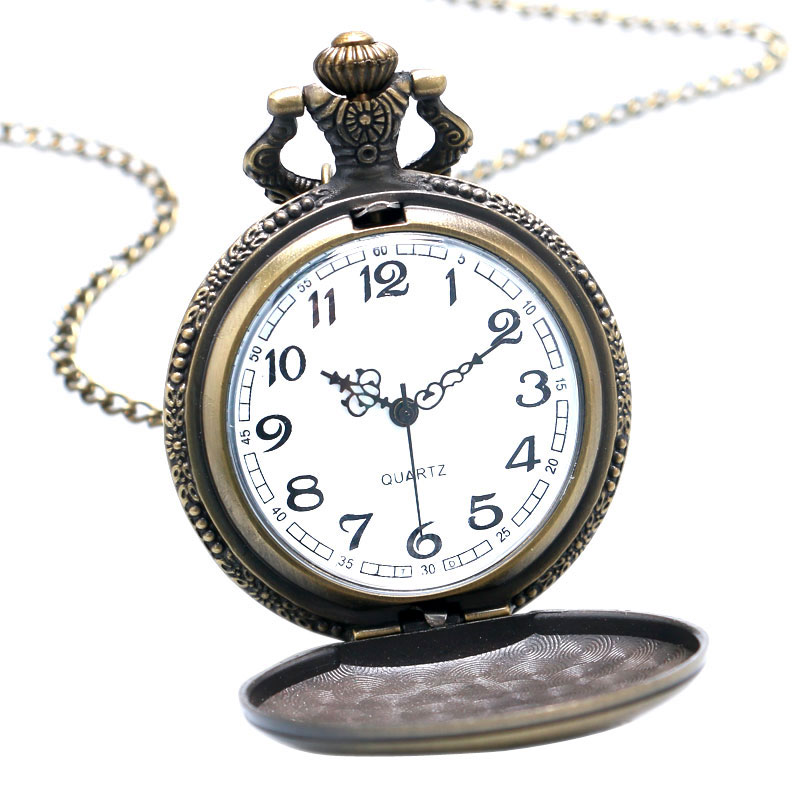 0c48d074c Bronze Antique Golfing Theme Pocket Watches With Fashion Casual Necklace Pendant  Chain Best Gift To Golfers Men Watch Portable-in Pocket & Fob Watches from  ...