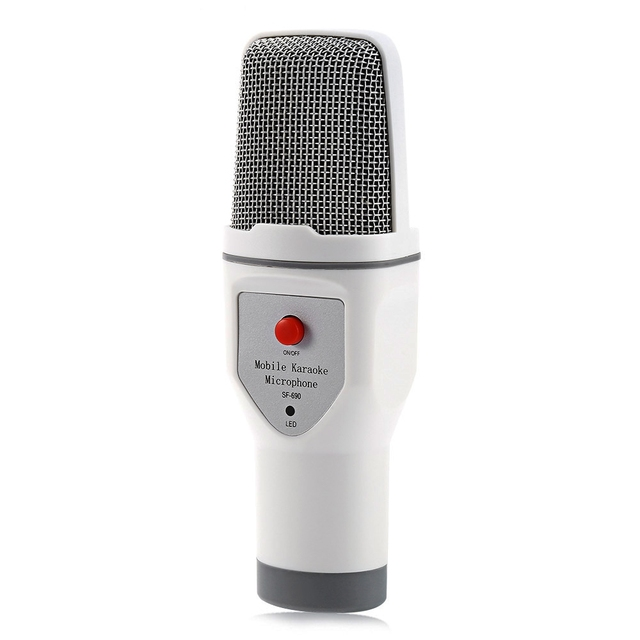 new universal charging Professional Condenser Microphone Mic for Audio Studio Sound Recording Mobile phone microphone USB Cable