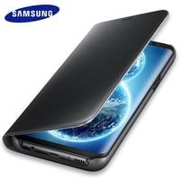 Samsung S8 S8 Plus 100 Original Smart Dormant Phone Case Bracket Mirror Window Flip Cover Leather