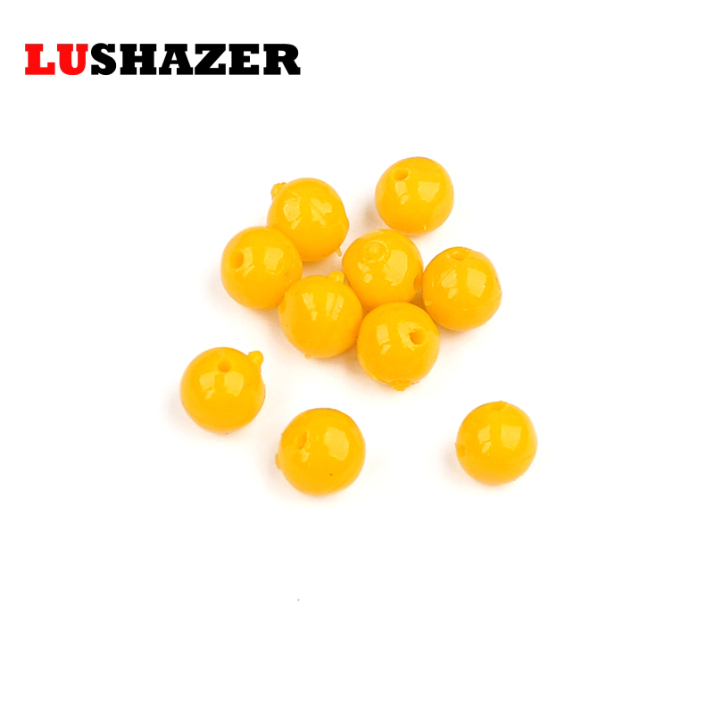 LUSHAZER 100pcs/lot fishing soft lure beads 8mm/10mm 0.15g/0.3g isca artificial silicone bait soft plastic lures swimbait China lure soft lures for fishing fish bait plastic silicone china frog silicon artificial set sea swimbait shad lot 7cm baits mouse