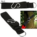 2pcs Hammock hanging belt hammock strap rope with metal buckle Hook wholesale cheap price