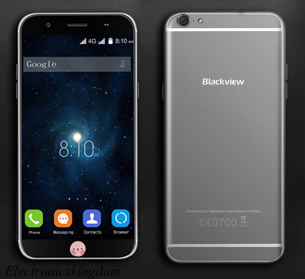 Original Blackview Ultra Plus 5.5'' Smartphone MTK6735 Quad Core 2GB+16GB 13MP CAM Dual SIM 4G LTE Mobile Phone