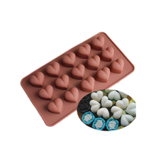 DIY Chocolate Silicone Molds Non Stick Soap Ice Cake Cookie Snack Sweat heart Waffle Bakery Makers Baking Tools