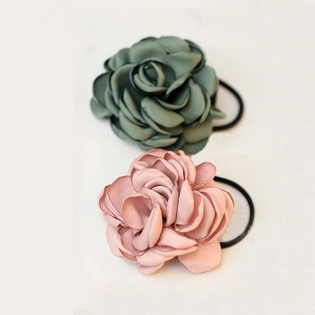 Elastic Flower Hair Band