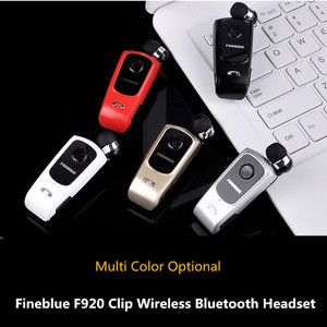 Image 5 - FineBlue F920 Wireless Bluetooth Earbuds Headset In Ear Earphones Headsets Support Calls Remind Vibration With Collar Clip