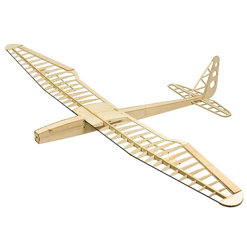 Upgraded Sunbird V2.0 1600mm Wingspan Balsa Wood RC Airplane KIT Wood Model Airplane Building Kit