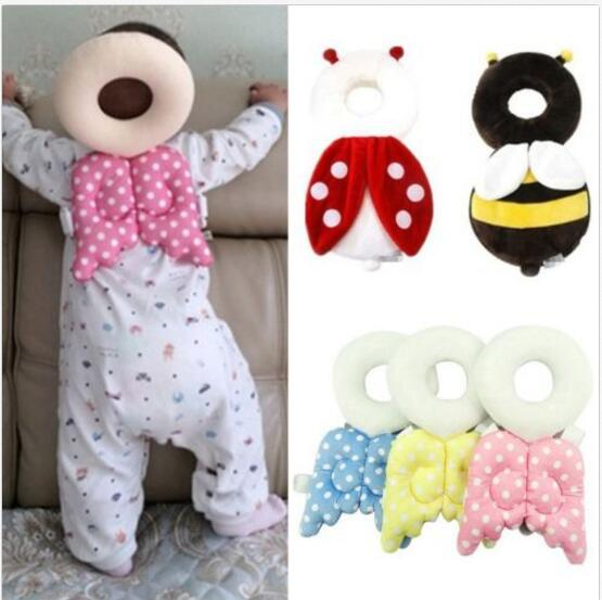 Baby Headrest Pillow Child Head Protection Pad Baby Neck Support Toddler Pillow Nursing Drop Resistance Cushion