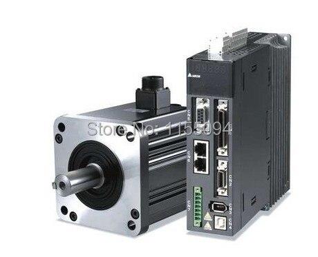 80mm 220v 400w 1.27NM 3000rpm 17bit ASD-B2-0421-B+ECMA-C20804R7 Delta AC servo motor&drive kit&3m cable mitsubishi 100% mds r v1 80 mds r v1 80