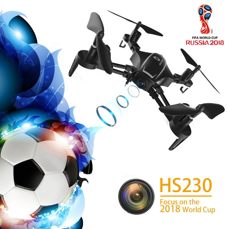 Holy Stone HS230 Racing FPV Wifi Drone Selfie Aerial 120 Angle 720P High Definition 45Km/h High Speed 5.8G LCD Screen Quadcopter