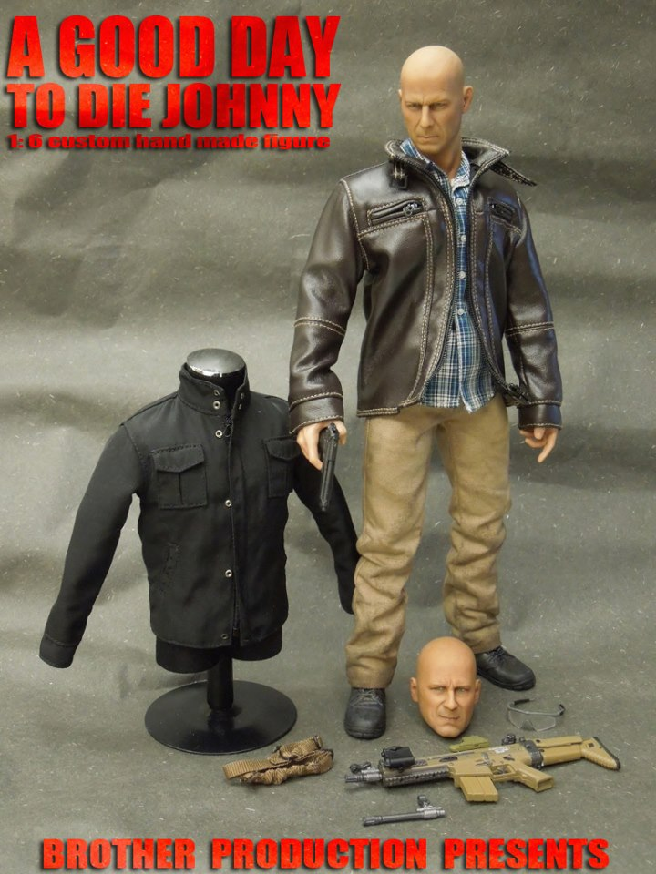 1/6 scale figure doll A GOOD DAY TO DIE JOHNNY Bruce Willis 12 action figures doll Collectible figure Plastic Model Toys consenting to die
