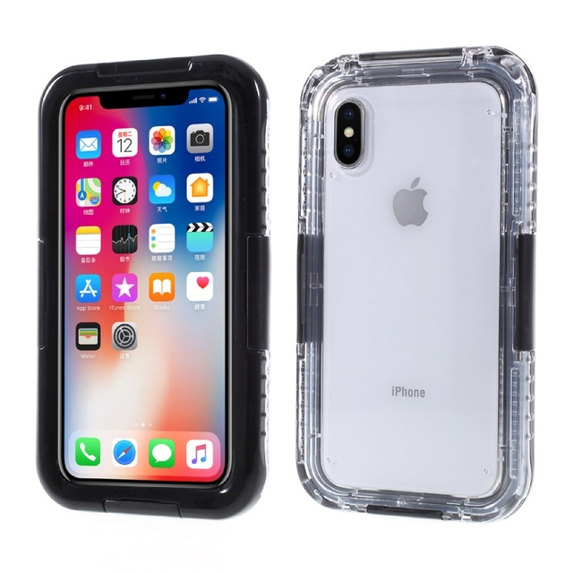 online retailer eb205 2d559 US $12.69 |Water Resistant Case for iPhone X Waterproof Cases for iPhone 8  7 Plus Underwater Dive Bag for iPhone 6 6s Cover Coque Fundas-in Fitted ...
