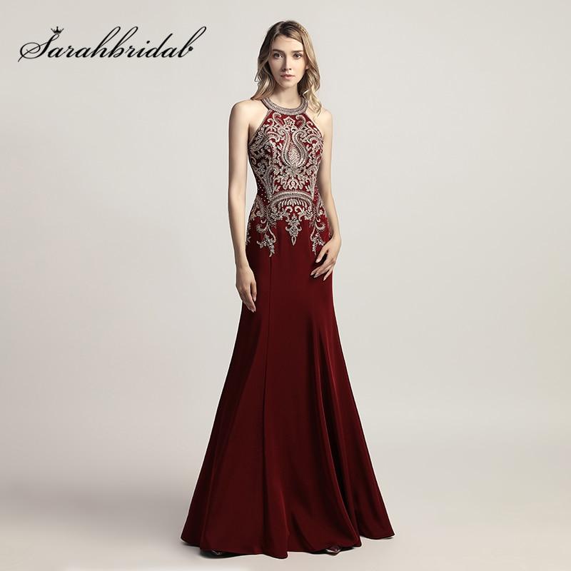 गर्म बिक्री बरगंडी लंबे - विशेष अवसरों के लिए ड्रेस