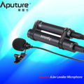 In Stock! Aputure A.lav lavalier microphone used with mobile recorder other equipment for recording