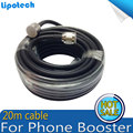 Mejor Precio 20 Metros Coaxial Cable N Macho A N Macho para Amplificador de Señal de Teléfonos Celulares Utilizan la Mejor Calidad 5D 20 m Cable