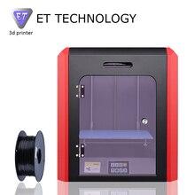 4 Лет Завод FDM 3D Принтер Yite Новейшие Технологии Запуска ET-K1 Desktop 3D Принтер с Мощная Функция Большой Точностью