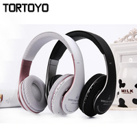 JKR 211B Foldable Stereo Bass Sports Wireless Bluetooth Headset Headphone With Mic FM Radio TF Card