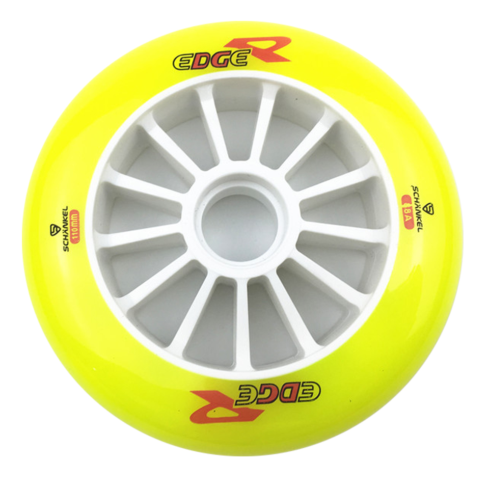 JEERKOOL 110 125mm 88A Inline Speed Skates Wheels for Kids Adult Racing Speed Skating Wheels for