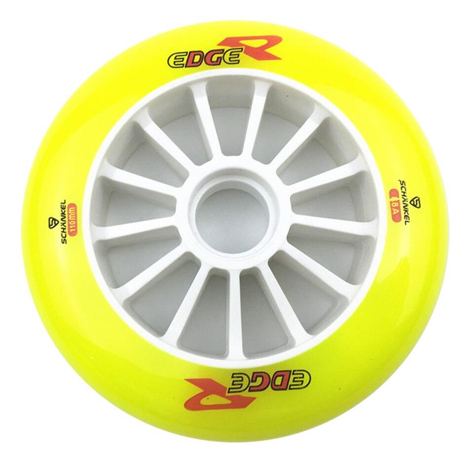 JEERKOOL 110//100//90mm 85A Inline Speed Skates Wheel for Asphalt Street Durable
