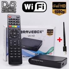 iBRAVEBOX V8 HD DVB-S2 Satellite TV Receiver Decoder Full HD