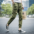2016 Harem Pants Men Fashion Brand Clothing Cargo Pants Loose Comfortable Joggers Casual Hip-Hop Pencil Trousers Plus Size LW081