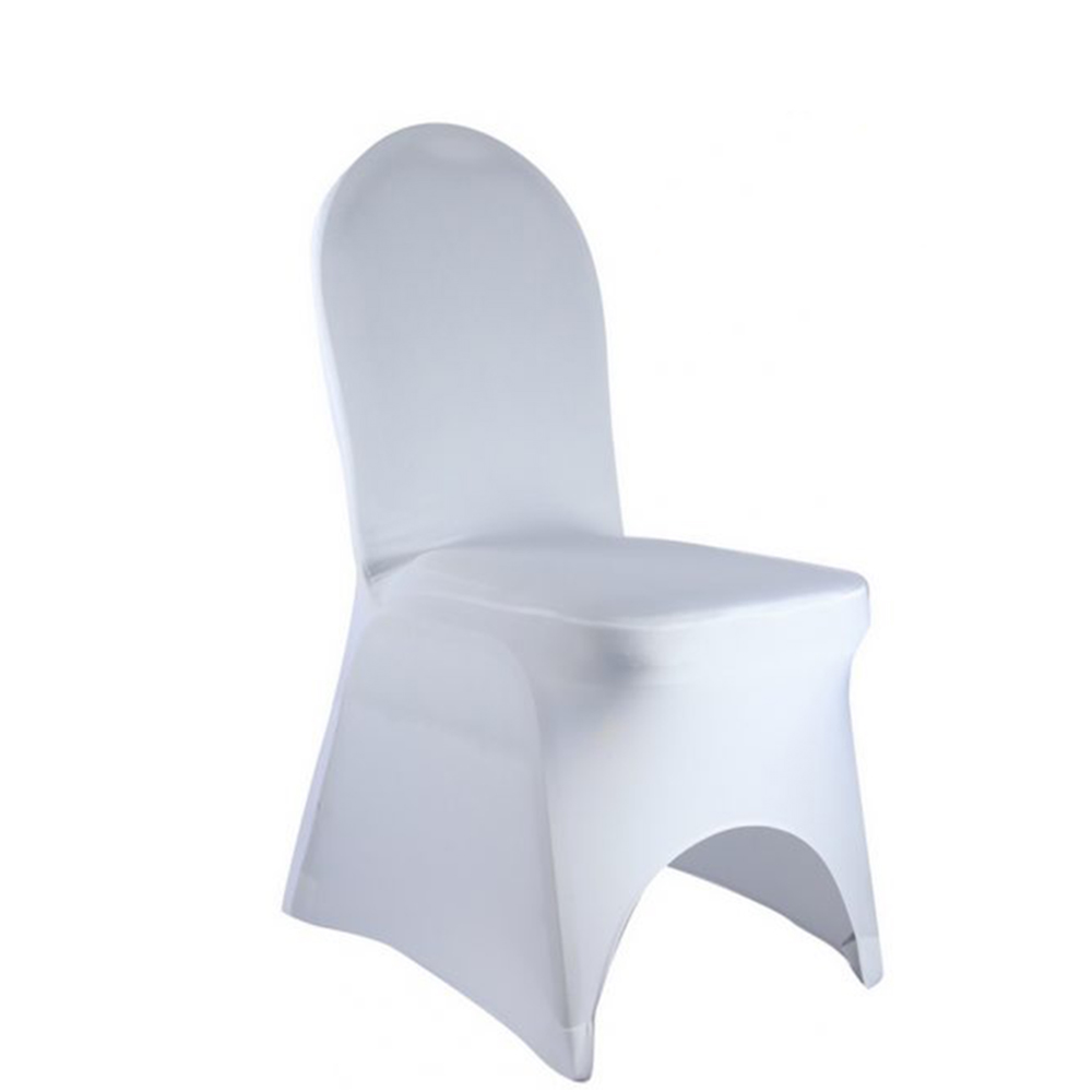Wedding Decoration Stretch Polyester Lycra Fabric Fitted Covers for Banquet Dining Home Chairs Lycra Spandex Chair