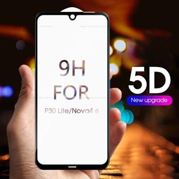 Перейти на Алиэкспресс и купить 5D полное покрытие закаленное стекло для Huawei Mate 20 Pro 20X P30 Lite для Honor 8X 8C 8S 10 Lite 10i 20i Защитная пленка для экрана стекло