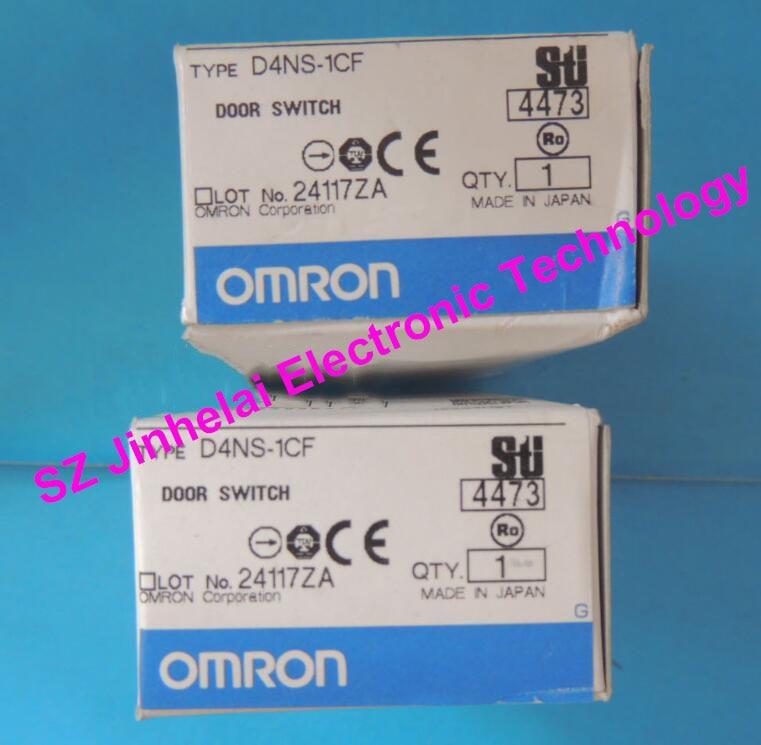 100%Authentic original OMRON DOOR SWITCH D4NS-1CF authentic original omron limit switch ze q22 2