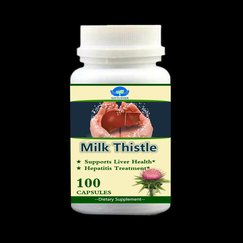 Liver Gold Hepatitis Treatment Milk Thistle Extract For Cure Hepatitis B Protect Liver and Gallbladder - 100pieces/bottle dickie пожарная машина 36см 3308371