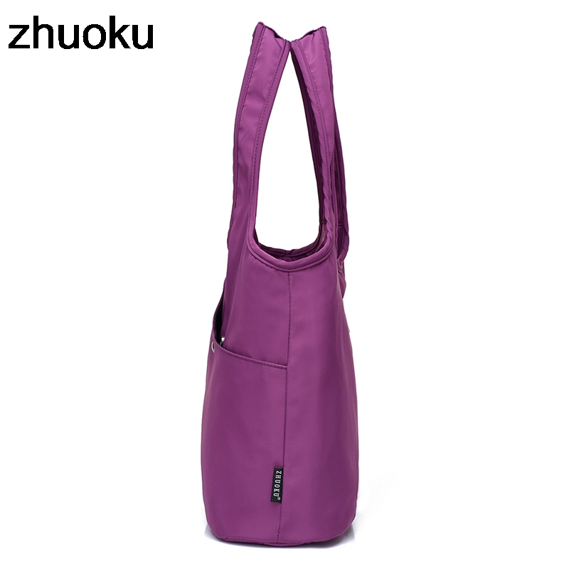 4489b93544 Women Shoulder Bag Luxury Handbag Designer Nylon Tote Beach Casual Tote  Female Shopping Top-handle Purse Sac Femme Bolsa Feminia