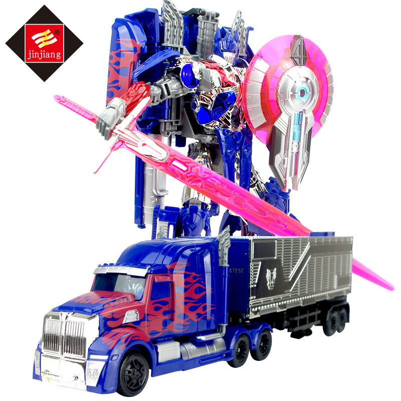 Big Size 46cm Length Transformation Deformation Robot Container Truck Toy Action Figures Toys with original box 8822AB lonely robot lonely robot the big dream 2 lp cd