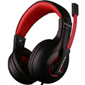 Gamer Gaming Headset de Auriculares Con Micrófono de Estudio Bass Con Aislamiento de Ruido 3.5mm Marca Original X4