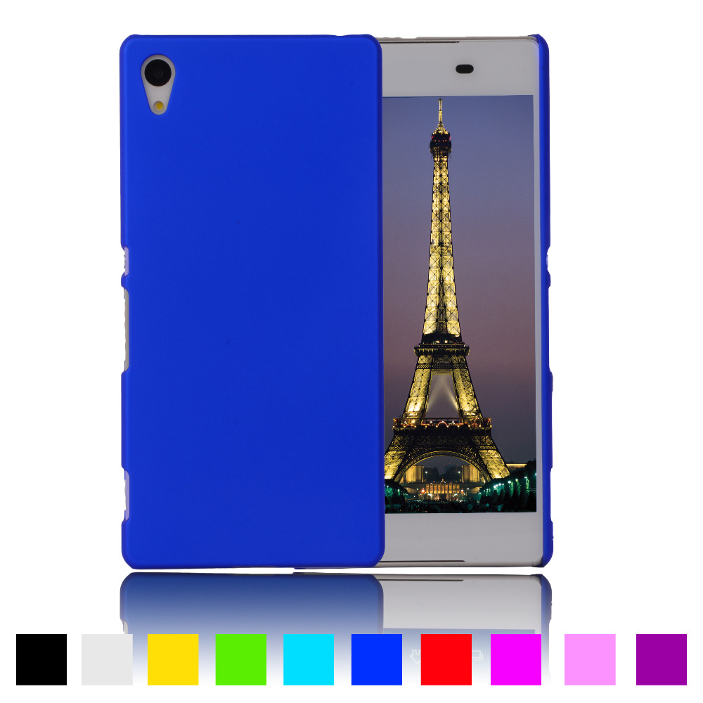 Slim Matte Rubberized Hard Plastic Case For Sony Xperia M4 Aqua Dual E2303 E2333 E2353 Back Cover Phone Protective Cases In Fitted From Cellphones