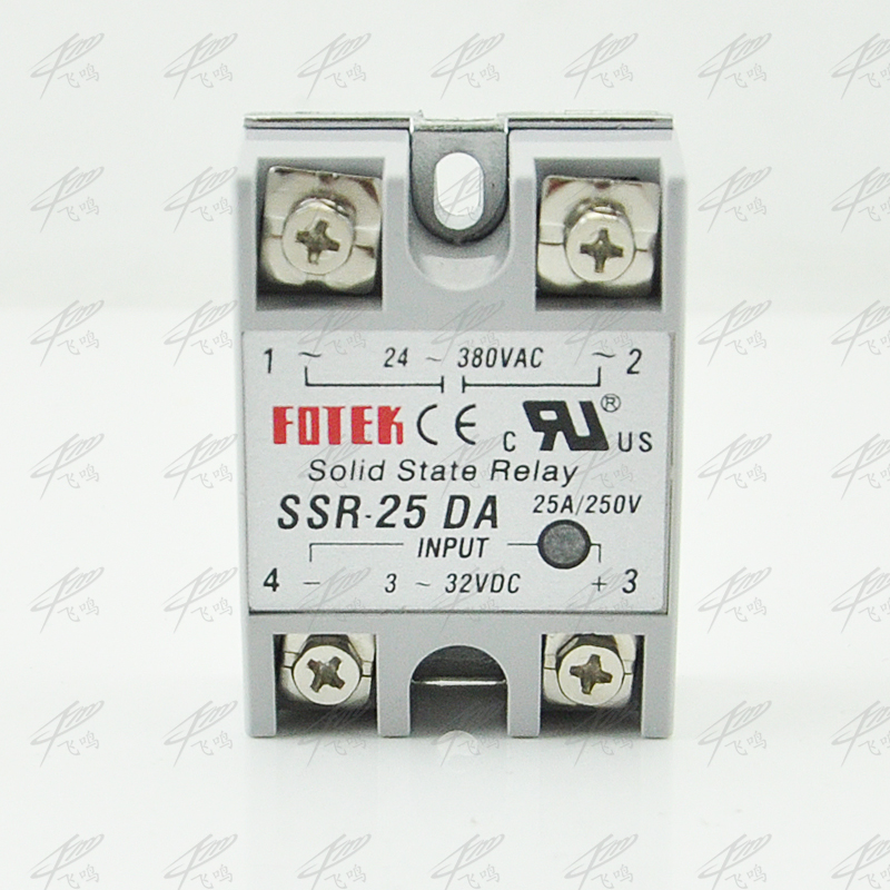 Solid State Relay SSR-25DA DC TO AC 25a SSR-25AA AC TO AC SSR-25DD DC TO DC SSR-25VA relay solid state Resistance Regulator 3 phase solid state relay ssr dc ac 25da