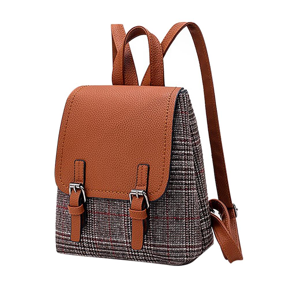 1beafe4c0a7 UK Style Fashion Vintage Laptop Backpack Women Canvas Bags Oxford Travel  Leisure Backpacks Retro Casual Bag School Bags -in Backpacks from Luggage    Bags on ...