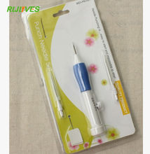 Pratical ABS Plastic DIY Crafts Magic Embroidery Pen Set DIY 3 Interchangeable Punch Needle Sewing Accessories(China)