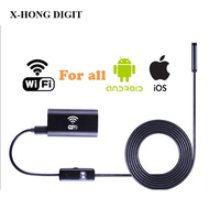 Wifi Endoscope For IOS And Android Device 8mm Lens 720P Endoscopy Inspection Camera For Iphone Android