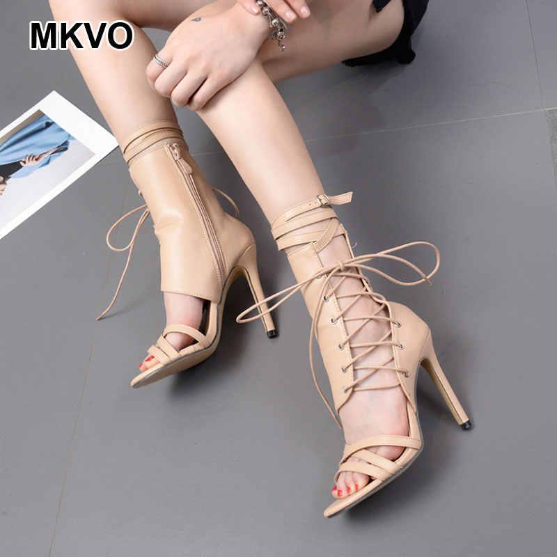 Роскошные босоножки gucced; модные пикантные осенние женские ботинки в римском стиле на высоком каблуке с ремешком; женские туфли-лодочки; большие размеры; yeez