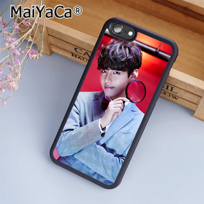 Phone Bags & Cases Amiable Maiyaca Fashion Unique Design Bts Phone Case Cover For Iphone 5 5s 6 6s 7 8 Plus X Case For Samsung S6 S7 S8 Edge Plus Cover Exquisite Craftsmanship;