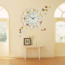 2017 Wall Clock Saat Reloj Relogio de parede Duvar saati Art Decoration Clock Horloge mural Living
