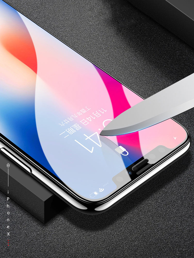 6D Curved Tempered Glass For IPhone 8 6 6s 7 Plus Screen Protector