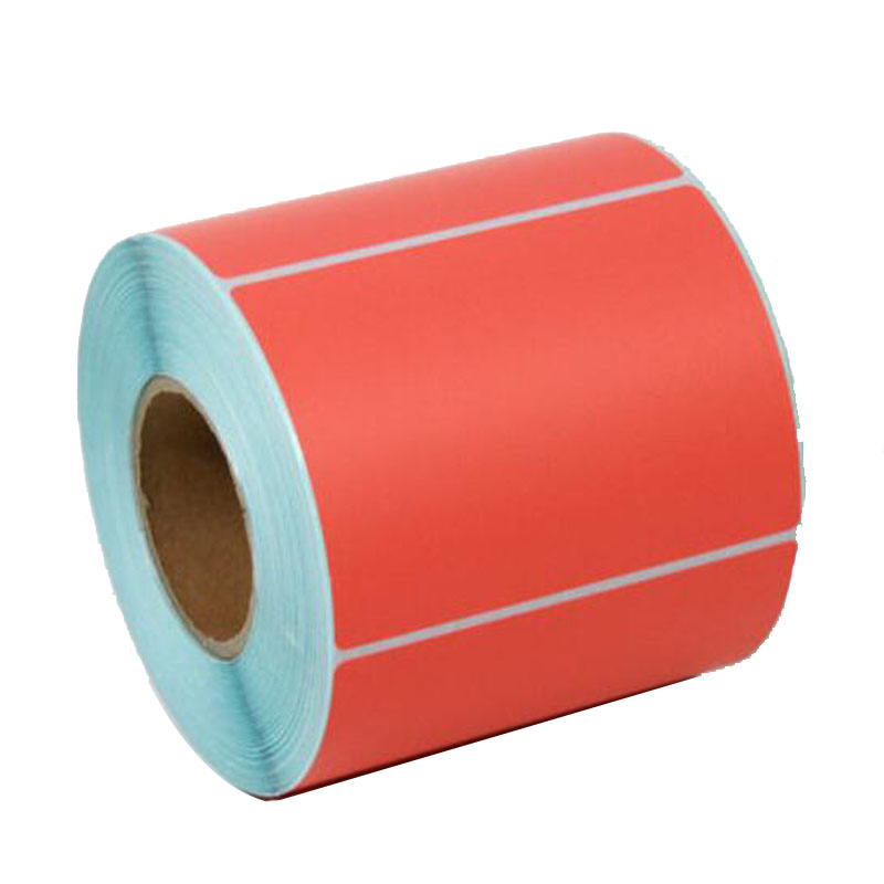 Color Label Paper 80*50*600pcs Thermal PaperLabel Stickers Paper Printing Paper Label Printer Paper supermarket direct thermal printing label code printer