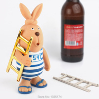 Creative Ladder Shape Bottle Opener Personality Ladder Shape Beer Soda Bottle Opener Key Chain