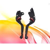 KODASKIN Motorcycle Folding Extendable Brake Clutch Levers for HONDA VFR 1200F